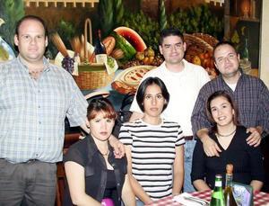 Enrique y Alicia Guizar, Érick y Ana Laura Bedolla, Jesús y Plili Maycotte.