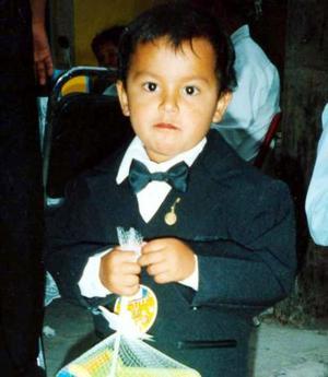 El pequeño Jorge Miguel García Hernández, festejó su tercer año de vida.