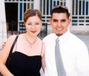 Alicia Viesca de Soto y Rodolfo Soto Contreras en pasado acontecimiento social.