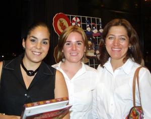 aleria Garza, Ale Cansino de Aguilera y Patricia Inestrosa de Aguilera