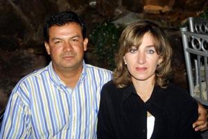 Samia Ollivier de Salazar y Jaime Salazar