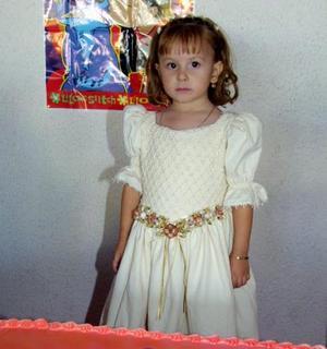 La pequeña Ana Luisa Fernández Moreno celebró su tercer cumpleaños.