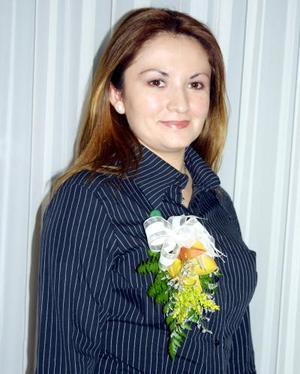 Adda Karina Carrillo Rodríguez captada en una de las despedidas de soltera que le ofrecieron en días pasados.