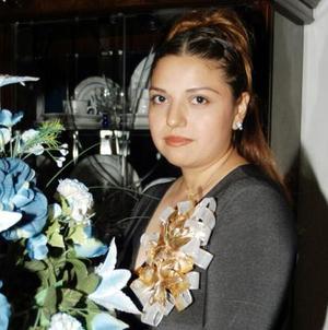 <u> 17 de noviembre </u> <p> María Cristina García Muñiz captada en su despedida de soltera.