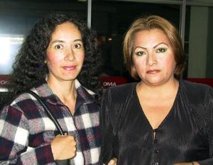 <u> 18 de noviembre </u> Argelia Sierra y Yolanda Morán regresaron de la Ciudad de México.