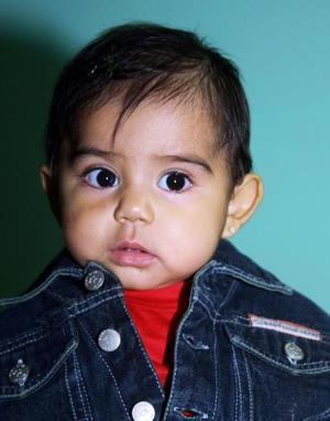 La pequeña Angélica Daniela Acevedo López fue captada en pasado festejo infantil.