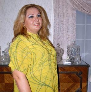 <u> 20 noviembre 2003 </u> <p>  Blanca Estela Durán de Salazar captada en su fiesta de cumpleaños