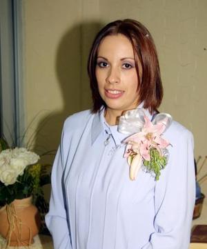 <u> 22 de noviembre </u> <p> Ana Fabiola Gutiérrez Barraza captada en la despedida de soltera que se le ofreció por su próxima boda con Othoniel Ibarra.