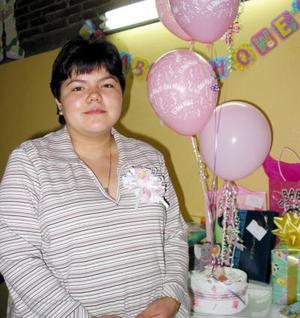 Fabiola Méndez de Cerceda disfrutó de una fiesta de canastilla.
