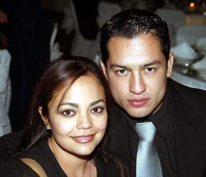 Carolina de Martínez y Manuel Martínez de Santiago.