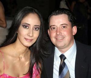 Cristina Flores y Armando Rodríguez Martínez.