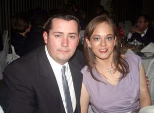 Eduardo Hernández y Blanca Rodríguez.