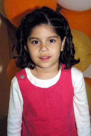Daniela Sánchez Seceñas festejó su cumpleaños con una divertida fiesta.