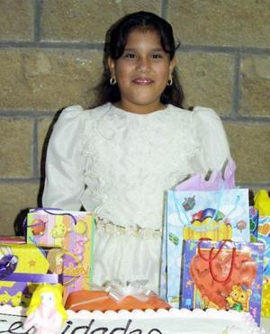Lourdes Bibiana Sosa Carrillo festejó su cumpleaños número nueve.