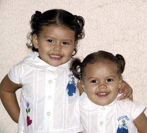 Sofía y Ximena Valdez Sotomayor captadas recientemente.