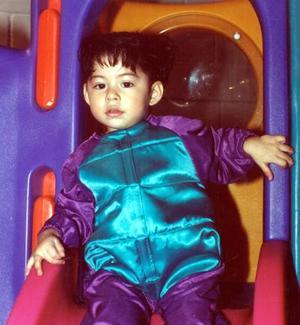 Ivana Torres Guerrero captada en la fiesta infantil que le organizaron sus padres con motivo de sus dos años de vida.