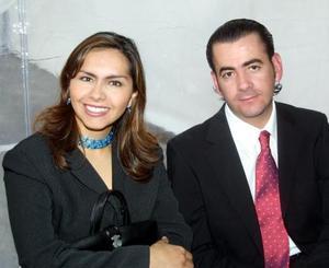 Loreley Maldonado y Marco Antonio Mata.