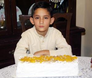 Édgar Pedroza Fraire festejó sus nueve años de vida, hijo de Claudia Fraire.
