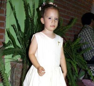 Beatriz Máynez Martínez festejó su tercer año de vida con una divertida fiesta que le ofrecieron sus papás.