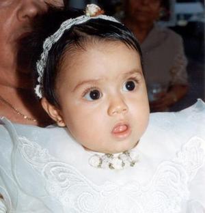 Niña Afriana Jiménez cumplió un año de vida en días pasados.