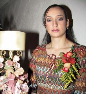Gabriela García Ríos disfrutó de una despedida de soltera.