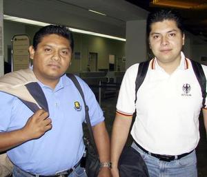 <u> 27 de noviembre </u> <p> Javier Martínez y José Luis Juárez retornaron a Veracruz.