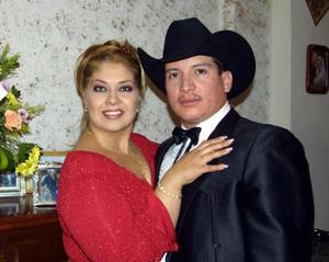 Ilenia Garibay Soto y Nicolás Sánchez Aragón captados recientemente.