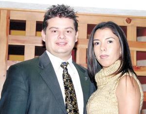 Pedro Piña Vázquez y Susana Rentería.