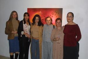 Rosy del Toro, Elizabeth Espinoza, Laura Velázquez, Rosy Gordillo, Ionne Villarreal y Soledad Gordillo.