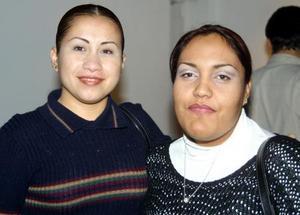 <u>30 de noviembre</u><p> Zuhey Torres y Teresa Cruz.
