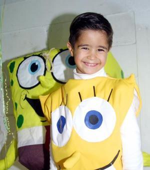 Raúl Sabag Schroeder festejó su quinto cumpleaños con un convivio infantil organizado por sus padres.