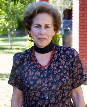 Magdalena Tejada de Braña festejó recientemente su cumpleaños.