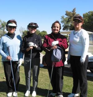 Rosa Elena de Esquinca, Adriana de Palma, Raquel de Gutiérrez y Leticia Abusaid.