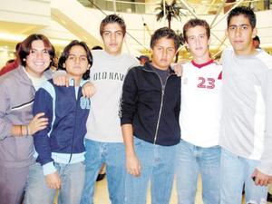 Andrés Diz, Daniel Acevedo, Raúl Vargas, Javier Cepeda, Kenneth Bello y Ramón Chufani fueron captados recientemente.