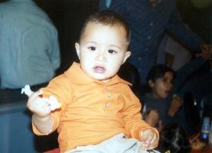 <u>01 de diciembre </u><p> Mario Rodríguez Patiño en la fiesta que le organizaron sus papás por su primer año de vida.
