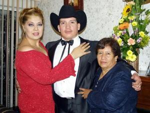 Ilenia Garibay Soto, Nicolás Sánchez Aragón y Concepción Aragón de Sánchez