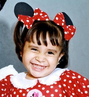 <u>04 de diciembre </u><p> Mary Fer González Quintero captada en días pasados en un convivio infantil.