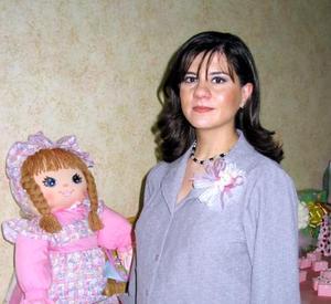<u>05 de diciembre </u><p> Rosa Isela Enríquez de Ramos disfrutó de una fiesta de regalos que se ofreció en honor del bebé que espera.