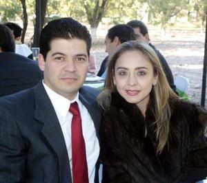 Alejandro Miñarro y Marisa de Miñarro.