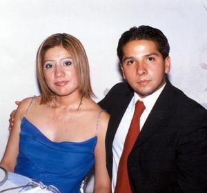 Claudia Iliana Tabares García y José Arellano Ramírez.