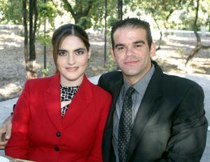 <u>06 de diciembre</u><p> Paola y Gustavo Gallegos