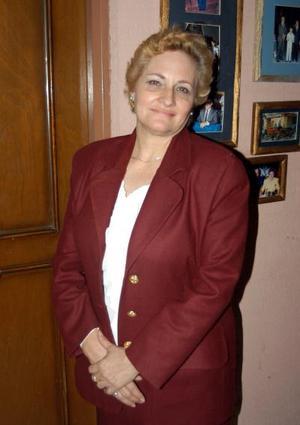 María Encarnación Zorilla festejó su onomástico con un convivio.