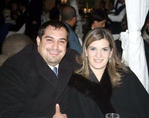 Luis Barthenuf y Adriana de Bartheneuf.