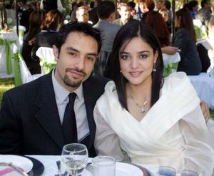 lejandro Tavera y Lorena Salmón.