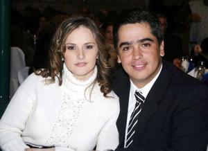 Maité Cobian y Francisco Obeso.
