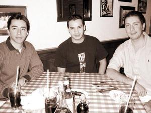 Óscar Ortiz, Jorge Vega y Jorge Santibáñez, captados recientemente.