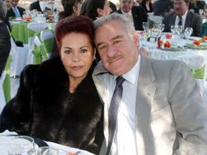 Sonia de Revueltas y Rafael Revueltas.