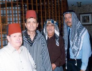 Señores Alberto Medina Jaime, Jacobo Zarzar Gidi, Juan Batarse Abujalil y Silvestre Faya Romero.