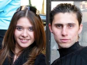 Sandra Gutiérrez y José Bracho.