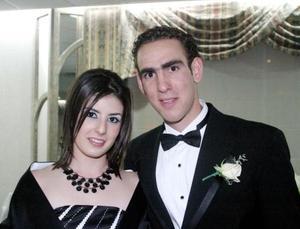 Mariana Jiménez y Eduardo Gómez captados recientemente.